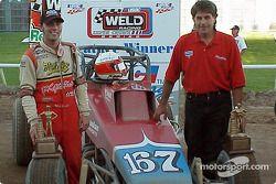 Bud Kaeding a remporté la victoire au volant de la Zarounian Motorsports dans l'O'Reilly Tulsa 100 USAC Weld Racing Silver Crown Series