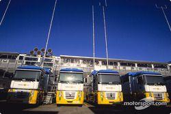 Un camion Renault F1