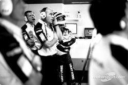 Jock Clear et Jacques Villeneuve