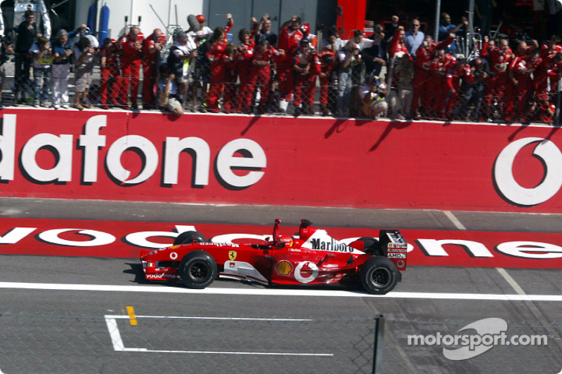 2003: Michael Schumacher, Ferrari F2003