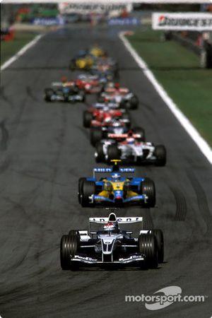 Pace lap: Marc Gene