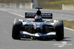 Minardi PS04 eerste stap: Jos Verstappen