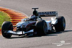 Minardi PS04: Jos Verstappen