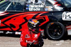Dale Brede, pilote de V8 Supercar, a des difficultés à s'adapter au V8 Supercar series