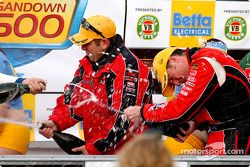 Time for celebrations for the Holden Racing Team