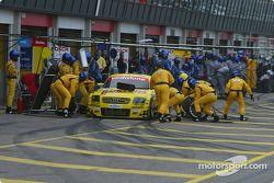 Christijan Albers doet pitstoptraining