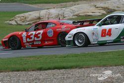 #33 Scuderia Ferrari of Washington Ferrari 360GT: Cort Wagner, Brent Martini, et #84 Acme Motorsport Porsche GT3 RS: Mark Hupfer, Paul Mortimer, Tim McKenzie