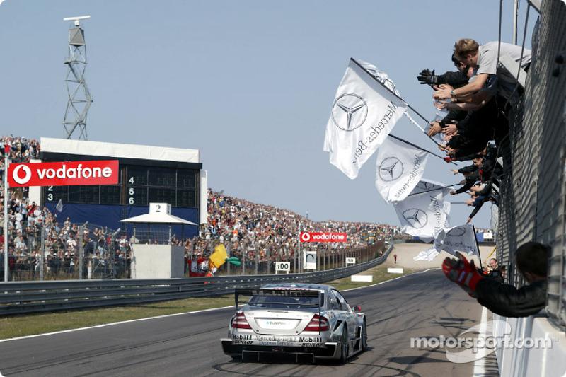 Racewinnaar Christijan Albers