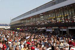 Fans in Zandvoort