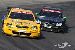 Jeroen Bleekemolen, OPC Euroteam, Opel Astra V8 Coupé 2002 und Marcel Fässler, Team HWA, AMG-Mercede