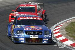 Karl Wendlinger, Abt Sportsline, Abt-Audi TT-R 2003 und Peter Dumbreck, OPC Team Phoenix, Opel Astra