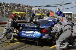 Boxenstopp für Karl Wendlinger, Abt Sportsline, Abt-Audi TT-R 2003