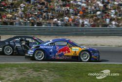 Mattias Ekström, Abt Sportsline, Abt-Audi TT-R 2003 und Marcel Fässler, Team HWA, AMG-Mercedes CLK-D