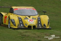 La #70 SpeedSource Ford Multimatic de Sylvain Tremblay, Selby Wellman et Paul Mears Jr. part en tête