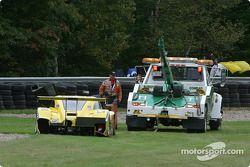 Opération de secours pour la #70 SpeedSource Ford Multimatic de Sylvain Tremblay, Selby Wellman et P