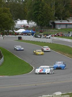 #59 Brumos Racing Porsche Fabcar: Hurley Haywood, J.C. France, Max Papis