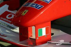 Nariz de un Ferrari