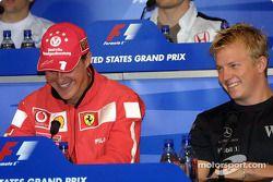 Conferencia de prensa de la FIA: Michael Schumacher y Kimi Raikkonen