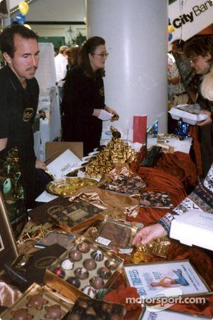 La fête du chocolat fait partie des activités de la semaine de Grand Prix