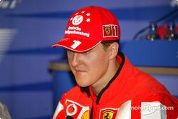 Thursday FIA basın toplantısı: Michael Schumacher