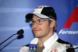 Thursday FIA basın toplantısı: Jacques Villeneuve