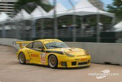 #60 P.K. Sport Porsche 911 GT3RS: Robin Liddell, Alex Caffi