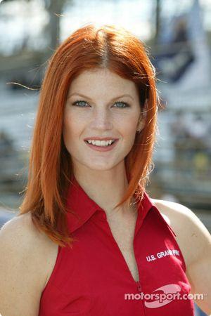 La hermosa presentadora de GP de Estados Unidos