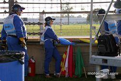 Oficiales de pista en Indianapolis Motor Speedway