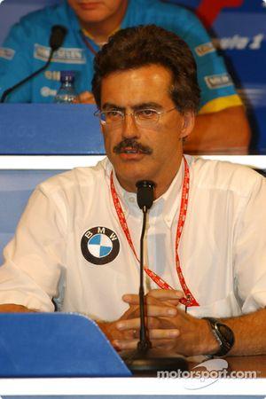 Conférence de presse de la FIA : Dr Mario Theissen