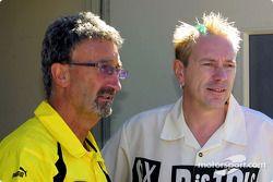 Eddie Jordan y Johnnie Rotten