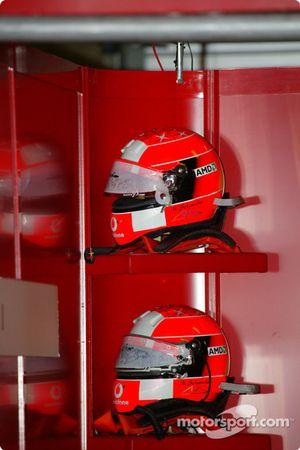 Cascos de Michael Schumacher