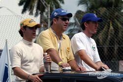 Présentation des pilotes : Rodolfo Lavin et Geoff Boss