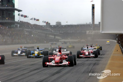 Arrancada: Michael Schumacher