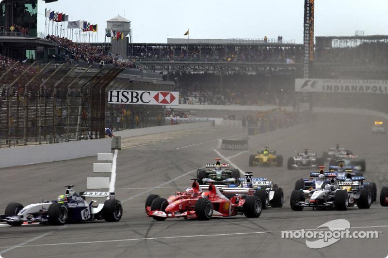 Arrancada: Ralf Schumacher