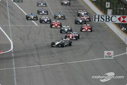 Start: Kimi Raikkonen ve field