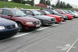 Volkswagen-Audi parking