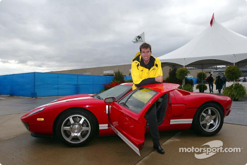 Ralph Firman y el Ford GT40