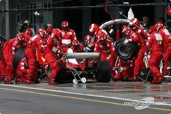Pitstop de Michael Schumacher