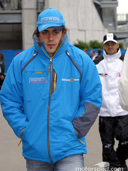 Fernando Alonso back from drivers parade