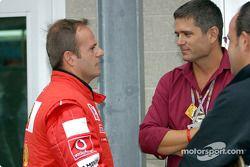 Rubens Barrichello et Gil de Ferran
