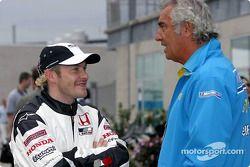 Jacques Villeneuve et Flavio Briatore
