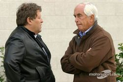 Norbert Haug et Roger Penske