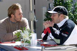 Patrick Lemarié et Jacques Villeneuve