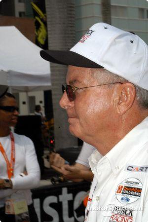 Patrick Racing general manager Jim McGee