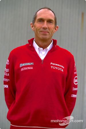 Photoshoot Toyota : Humphrey Corbett, ingénieur de course