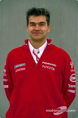 Photoshoot Toyota : Dieter Gass, ingénieur de course