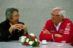 Ove Andersson et Makoto Matsui de GM Motorsport