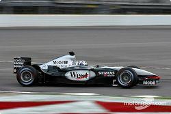 David Coulthard, McLaren MP4-17D