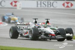 Kimi Räikkönen et Justin Wilson