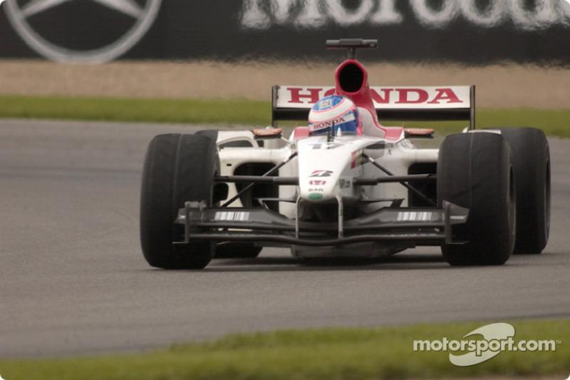 2003 - BAR 005 (Honda motor)